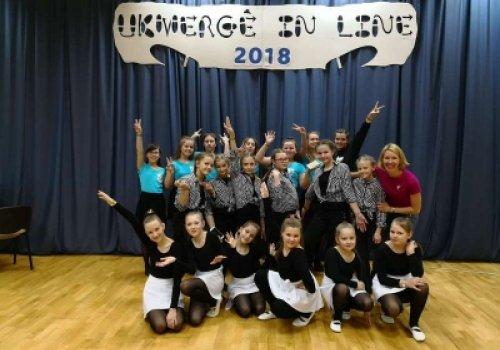 Šiuolaikinių šokių būrelio vaikų pergalė