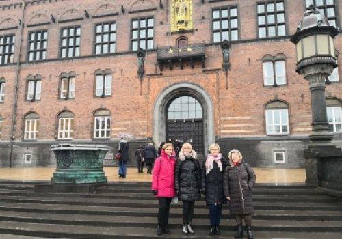 Išvyką į Daniją